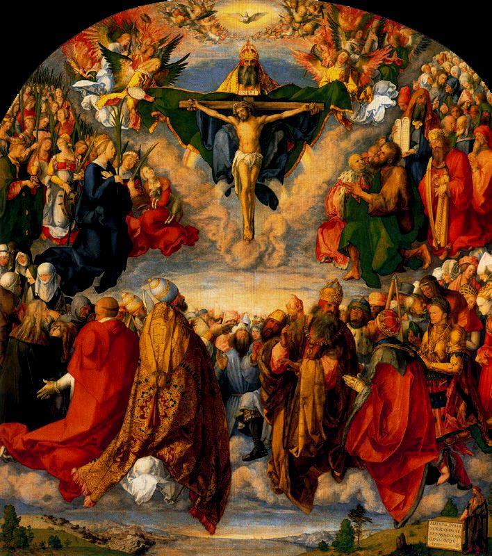 Las lecturas del día 1 de noviembre. Todos los Santos   Parroquia ...