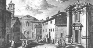 Roma. Monaserio de Saint'Egidio