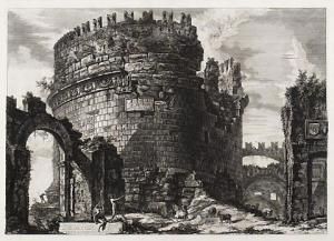 Roma. Tumba de Cecilia Metella