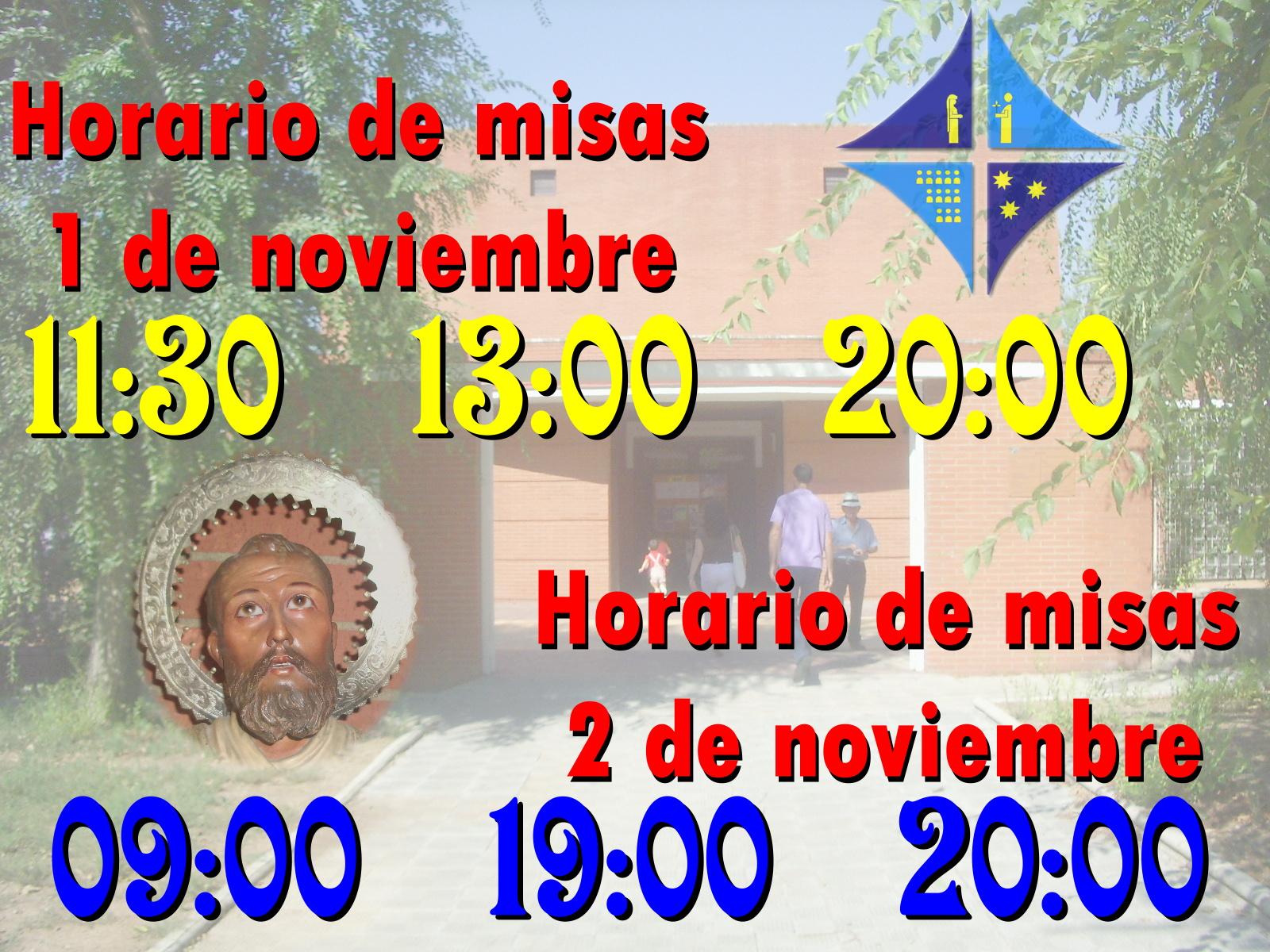 horario de misas en sevilla: