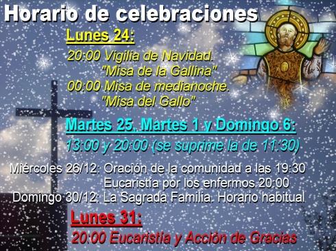 1 Horario misas navidad 2012