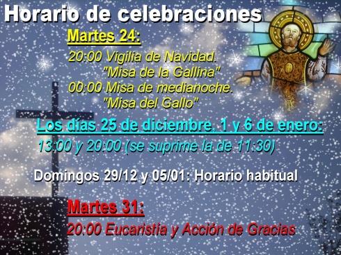 2013-14 Horarios Navidad