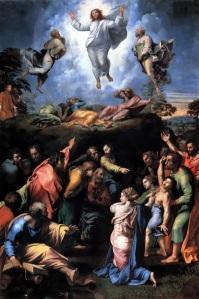 La Transfiguración. (Rafael 1517)